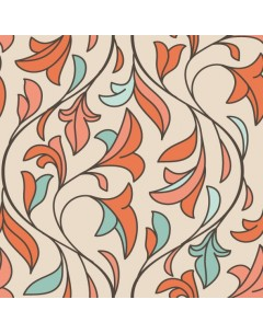 Papier peint vintage sans raccord