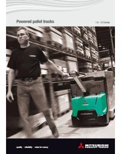50 Brochures - Transpalettes électriques PREMiA