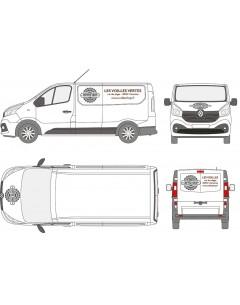 Lettrage vehicules utilitaires