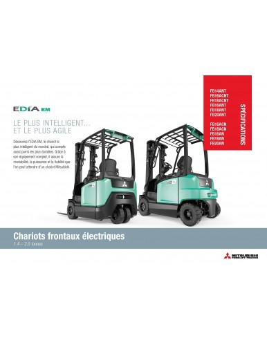 50 Brochures Thermiques TREXiA  7,0-16,0 t