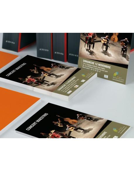 Flyer - Impression quadri recto verso