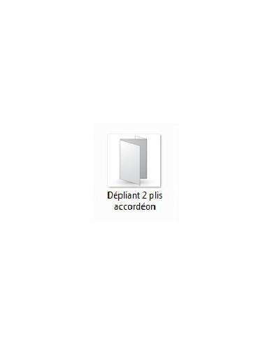 Dépliant 3 Volets - plis accordéons